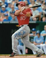 Mike Trout Autographed Signed 8x10 Photo (  Angels ) REPRINT ,