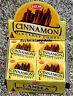 Hem Cinnamon Incense 10-20-30-40-50- 60-80-100-120 Cones You Pick Amount {:-)