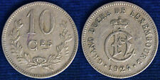 10 CENT 1924 LUSSEMBURGO LUXEMBOURG BB/VF #2290A