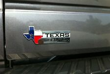 XL TEXAS EDITION Emblem Badge for Ford 150 250 350 Tailgate Universal Stick-On