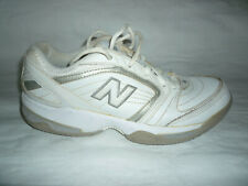 Mens White Leather 548 New Balance Walking Tennis Shoes Sneakers Sz 7.5 B (Us)