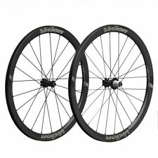 Vision Metron 40 TL Carbon Clincher DB 6B Wheelset shimano 10/11 speed-24/28H