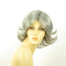 Perruque femme grise cheveux lisses ref  LISA 51