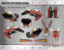 Honda CRf 150R 2007 up to 2014 graphics decals kit Moto StyleMX