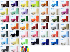 44 Colors 100% Polyester Standard Sewing Thread Each 200 Meters Household 2pcs