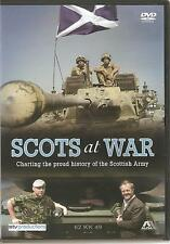 SCOTS AT WAR DVD CHARTING THE PROUD HISTORY OF THE SCOTTISH ARMY