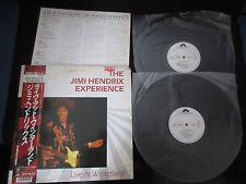 Jimi Hendrix Live at Winterland Japan Promo Vinyl DBL LP w OBI in Poor Sleeve