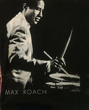 Max Roach Vintage 1991 T Shirt monk milesBebop Jazz Drummer Men's M