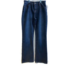 Levi's women's jeans 512 perfectly slimming boot cut blue stretch denim size 6
