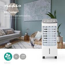 Mobiles Klimagerät Luftkühler Aircooler 80 Watt 270m³/h Timer Ventilator