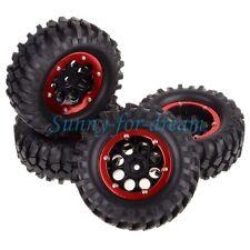 "RC Car 1/10 Beadlock Wheel Rim & 108mm Tyre Tires 4031R-7032 Rock Crawler 1.9"""