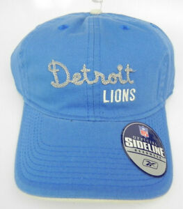 DETROIT LIONS NFL SPORTS SPECIALTIES 1990s RELAXED STRAPBACK VINTAGE CAP HAT NEW