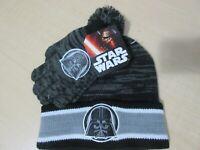 Star Wars Darth Vader Hat Mittens Set NWT Youth size