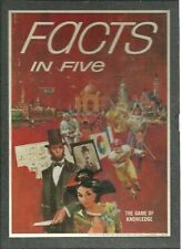 FACTS IN FIVE 3M - Complete - 1967 BOOKSHELF GAME