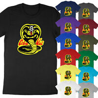 Funny Mo Mercy Strike Hard Karate Kid Cobra Kai Graphic Tee Unisex T-Shirt