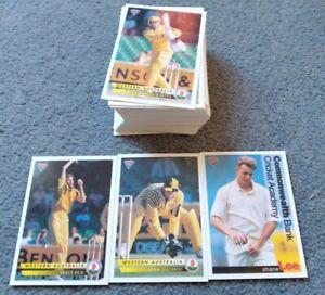 94' Futura Sport cricket cards, Set (missing No99)