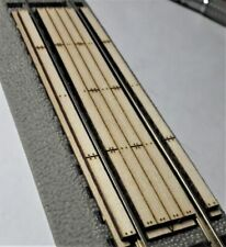 S Scale Straight Grade Crossing for Lionel(American Flyer) 2-rail Fastrak system