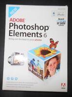 Adobe Photoshop Elements 6 for Mac CD-ROM iPhoto Apple Software Enhances Photos