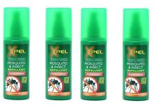 4 x Xpel Mosquito & Insect Repellent Pump Spray Tropical Formula Holiday Travel