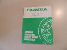 HONDA CBX 1000 ProLink  1981 Werkstatthandbuch Nachtrag shop manual addendum