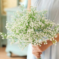 Head Artificial Plants Breath Gypsophila Silk Flower Party Wedding Home Bouquet