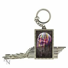 3d Keyring/keychain, Dripping Skull by Nemesis Now.