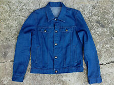 APC Men's Blue Trucker Jacket Size 38 / Small New Without Tags