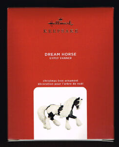 HALLMARK KEEPSAKE - 2020, DREAM HORSE, GYPSY VANNER, QGO1781