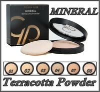 Golden Rose Mineral Terracotta Powder  Excellent Coverage  & Smooth Finish