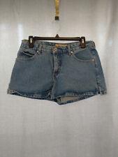 Blue Asphalt Denim Jean Shorts Juniors 9 Light Classic Shorty Mini High Waist