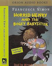 FRANCESCA SIMON HORRID HENRY & THE BOGEY BABYSITTER CASSETTE MIRANDA RICHARDSON
