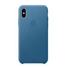 APPLE iPhone XS Xs Max Leather Case (Genuine Original Apple OEM, All Colors, New