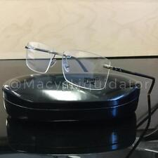 Mont Blanc MB 579 MB0579 Eyeglasses Gunmetal Havana 008 Authentic 57MM