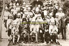 "mm520-Romanov - Czar Nicholas as Czarevitch  at visit to Siam 1891 - photo 6x4"""