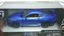 AMERICAN LEGENDS 2018 FORD MUSTANG GT BLUE PREMIUM DIECAST MOTORMAX NEW