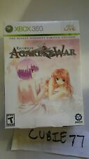 Record of Agarest War The Really Naughty Limited Edition Microsoft Xbox 360) NEW