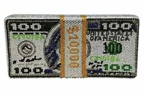 CustomisedCloset $ Dollar Evening Wedding Party Clutch Bag Shoulder BN