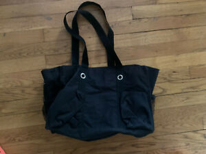 Thirty-One Organizing Utility Tote Solid Black