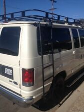 Ford Econoline, Express, Ram Van; Roof Rack brackets & ladder / Van Life Bundle