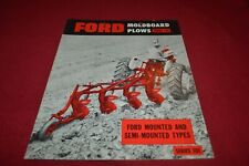 Ford Tractor 101 Series Moldboard Plows Dealers Brochure AMIL15