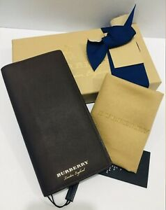 Authentic Burberry Continental Long Wallet