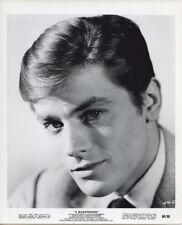ALAIN DELON Handsome portrait Vintage Original Photo 3 MURDERESSES 1960
