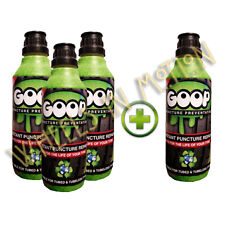 Goop Tyre Puncture Sealant Puncture Preventer / BUY 3 500ml Bottles GET One Free