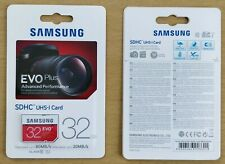 Samsung EVO+ 32GB SD Card CID Changeable new MB-SC32D/EU