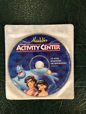 Disney Aladdin Activity Center PC or Mac Cd-Rom Games,  Puzzles,  and more 1994