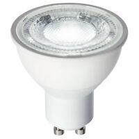 7W LED GU10 Light Bulb -Daylight White 6000K 600 Lumen- Outdoor & Bathroom Lamp
