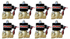"Air Ride Suspension Valves AirMaxxx 8 New 1/2""npt Brass Fast FBSS Bag System"