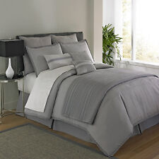 QUEEN - JCP Home Studio Granite BEDSKIRT, SHAMS, COVERLET/QUILT & COMFORTER SET