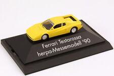 1:87 Ferrari Testarossa light yellow yellow yellow - Consumenta 1990 - herpa
