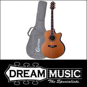 Crafter CR-JE 18/N W/B Jumbo Cedar Top LR Baggs Pickup Electro-Acoustic RRP$1099
